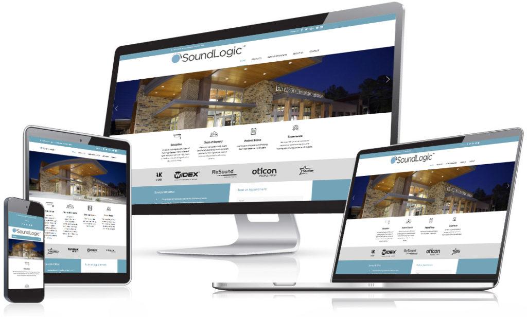 SoundLogic Website - Holt Creative Group work