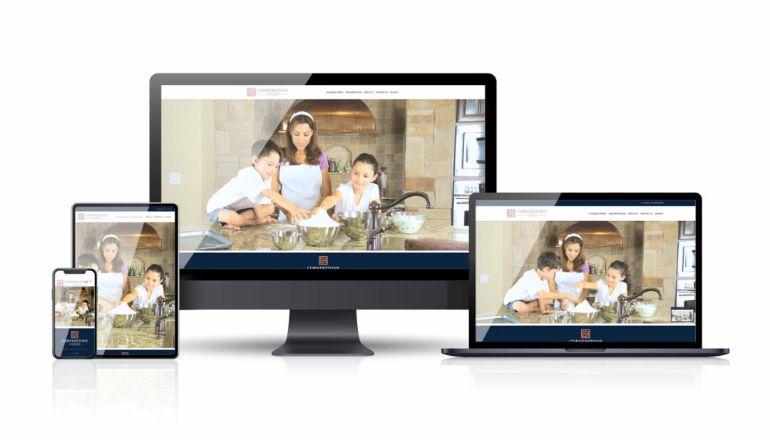Cornerstone Homes web