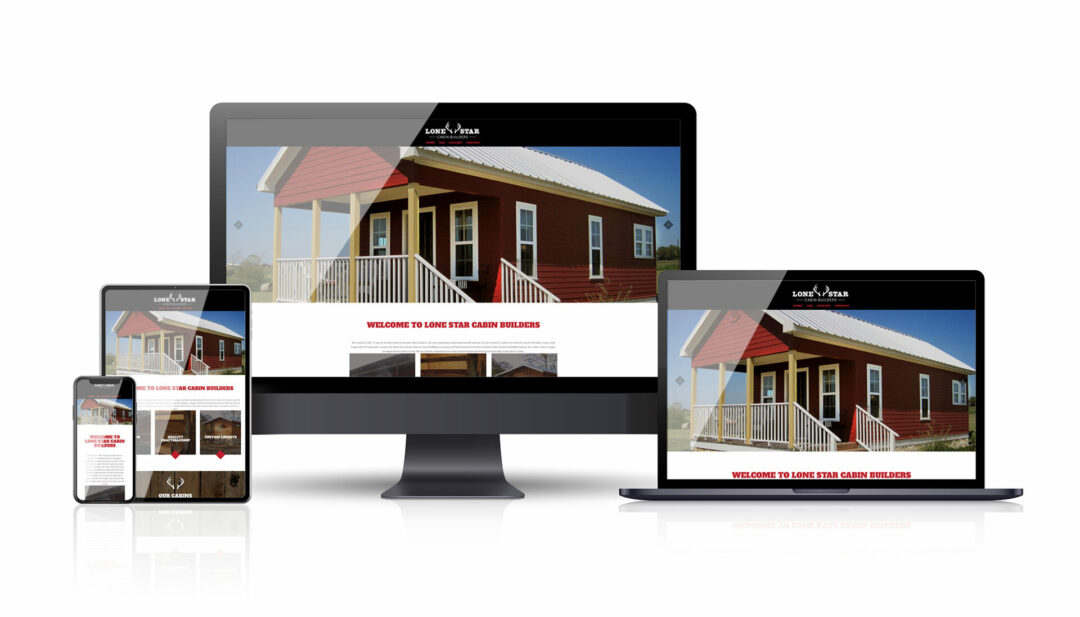 Lone Star Cabin Builders web
