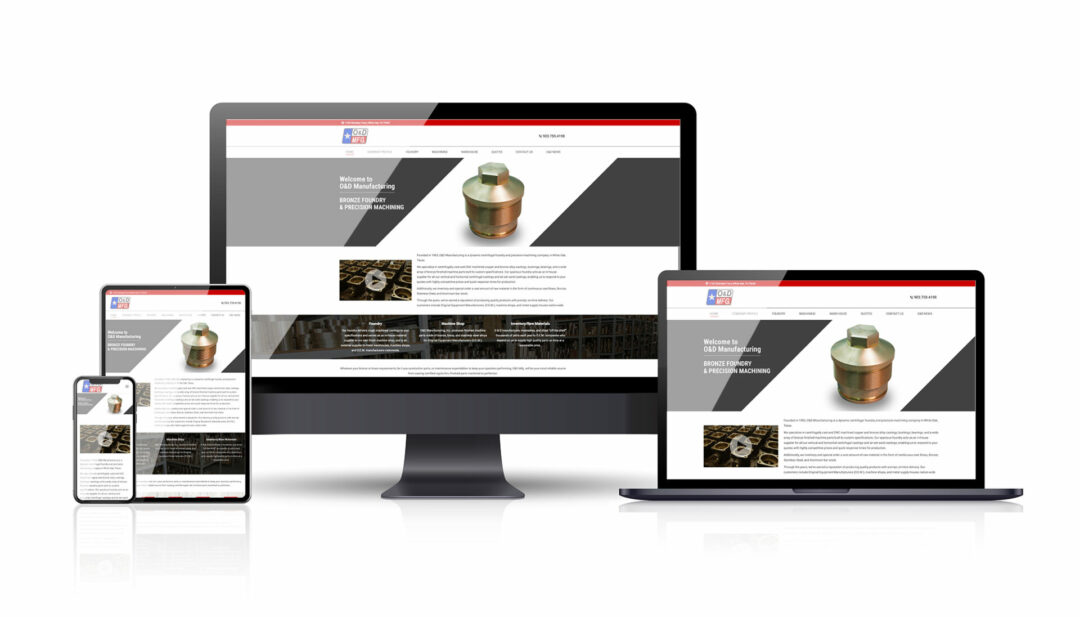 O&D Manufacturing web