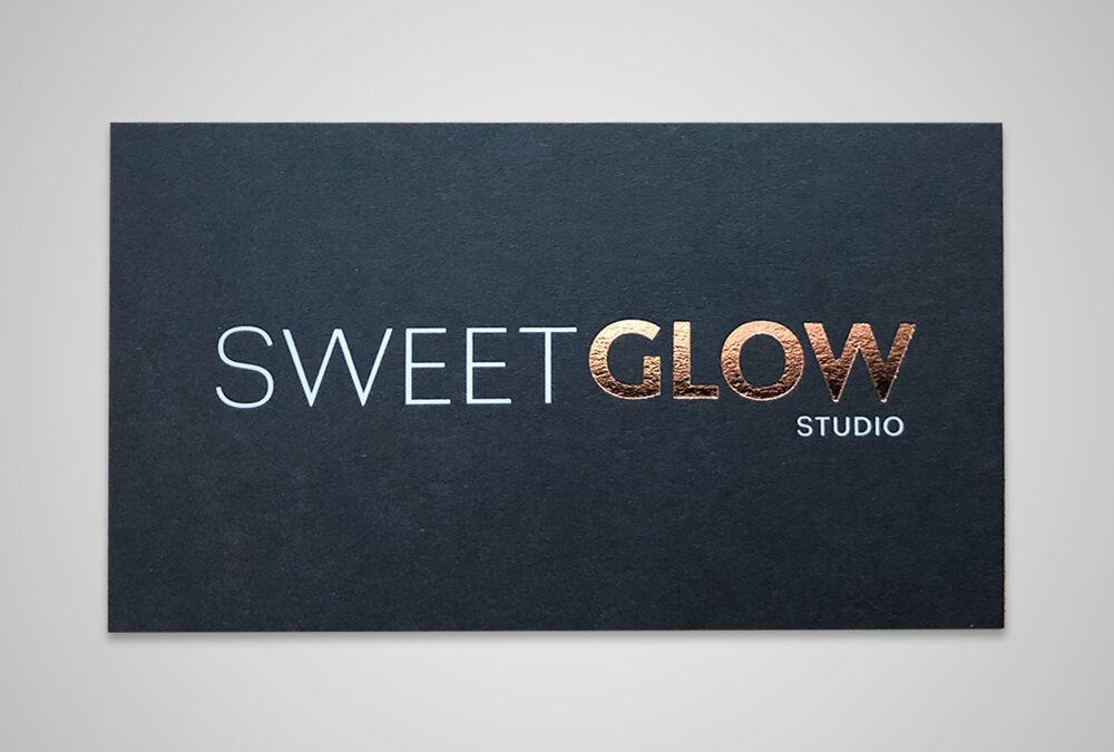 SweetGlow Business Card